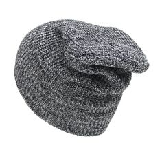 e0790fec621 Winter Hat For Men Women Skullies Beanies Slouchy Plain Warm Cap Unisex  Oversize