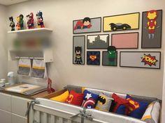 28 ideas bath room design kids boy rooms for 2019 Baby Boy Rooms, Baby Bedroom, Baby Room Decor, Baby Boy Nurseries, Kids Bedroom, Avengers Nursery, Marvel Nursery, Superhero Room, Room Themes