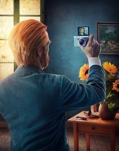 Imagine some of the greatest artists of centuries past came back to life. What would they make of modern art, and in particular the selfie craze? Well according to a brilliant ad campaign for the Samsung NX Mini, Frida Kahlo, Vincent van Gogh and Albrecht Dürer would embrace it. The images depict each of the […]