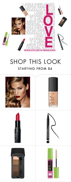 """""""Get The london look- beauty"""" by mlane9 ❤ liked on Polyvore featuring beauty, Charlotte Tilbury, NARS Cosmetics, Bobbi Brown Cosmetics, Clinique, Guerlain, Maybelline, Benefit and amazed15"""