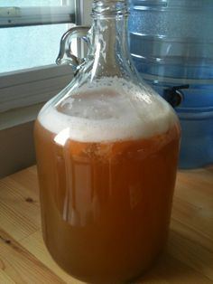 Home made mead - it should look something like this