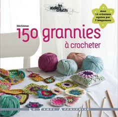 Livre de crochet : 150 granniesQuels cadeaux offrir à une passionnée de crochet ? Retrouvez des idées pour les crocheteuses débutantes ou expertes : des crochets, de la laine, des accessoires, des livres et des guides, des patrons de jolis modèles, des sacs. #cadeaunoel #crochet #ideecadeunoel #granny Crochet Squares, Crochet Granny, Crochet Motif, Crochet Stitches, Knit Crochet, Crochet Patterns, Granny Squares, Crochet Books, Love Crochet