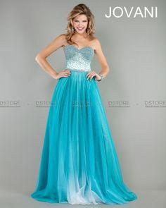 Vestido tomara que caia, corselete bordado com cristais Mimi 927