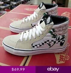 885bae2d40 VANS SK8-HI (CHECKER FLORAL) TURTLEDO VN0A38GEUPM. Katera Lewis · Shoes