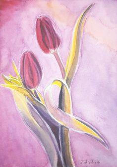Ehi, ho trovato questa fantastica inserzione di Etsy su https://www.etsy.com/it/listing/492855394/tulipani-rossiacquerello