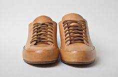 Feit hand sewn all vegetable leather sneakers.  It looks like a museum piece doesn't it?