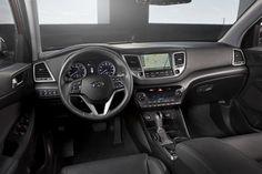 Hyundai Tucson 2016 cabin dashboard interior