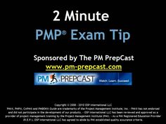http://www.pm-prepcast.com/tips - Make sure that you answer all 200 questions in the PMP Exam to avoid wrong markings for unanswered questions.