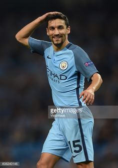 Jesus Navas of Manchester City during the UEFA Champions League match between Manchester City FC and VfL Borussia Moenchengladbach at Etihad Stadium...