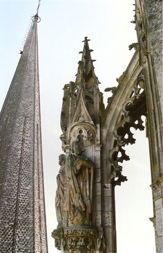 Chartes Cathedral, flying buttress!