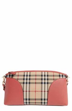 a2f2c67ce423 Burberry  Horseferry Chichester  Leather  amp  Nylon Crossbody Bag Burberry  Women