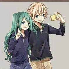 Miku and Len