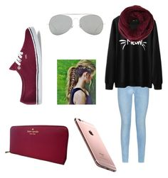 """:)"" by ajlamastra on Polyvore featuring 7 For All Mankind, Vans, BCBGMAXAZRIA, Kate Spade, Acne Studios, women's clothing, women's fashion, women, female and woman"