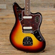 Fender American Vintage '65 Jaguar Three Tone Sunburst USED (s354)