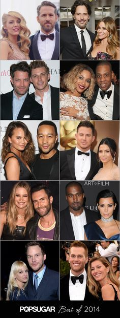 Pin for Later: The 10 Sexiest Celebrity Couples of 2014