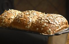 Steel Cut Oat Bread~this bread has a sweet flavor from the honey and would make a fantastic sandwich bread for lunches or morning toast. If your not a big fan of whole wheat breads give this one a try, it's both nutritious and tastes wonderful
