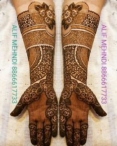 Rose Mehndi Designs, Mehndi Designs For Kids, Wedding Mehndi Designs, Mehndi Design Pictures, Latest Mehndi Designs, Mehndi Images, Henna Tattoo Designs, Kashees Mehndi, Hand Mehndi