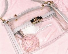 it's so cute how we all gonna have matching clear bags at the concert🙌🏻 Modern Princess, Princess Aesthetic, Ari Perfume, Ariana Merch, Ariana Grande Perfume, Ariana Grande Outfits, Clear Bags, Girly Things, Womens Fashion