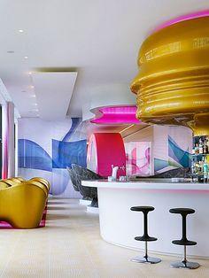Nhow Hotel, Berlin, Germany  #interior