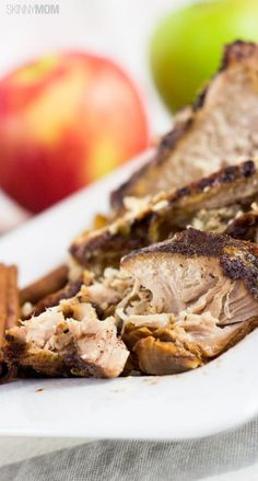 Slow Cooker Honey Pork and Apples