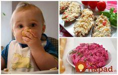 Výborné nátierky, ktoré môžu aj drobci do 3 rokov. Sú veľmi zdravé a výborné aj pre staršie deti a tiež pre dospelákov. Baby Food Recipes, Children, Kids, Food And Drink, Vegetables, Breakfast, Ham, Desserts, Recipes For Baby Food