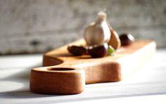 Wood Centerpiece - House Warming Gift - Amuse Board - Planche à Découper - Michael Vermeij - Cherry Wood - Aperitif Tray - Rustic