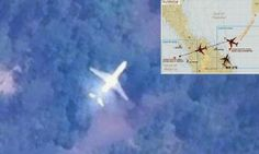Celebrities Bulletin: Student posts 'satellite picture' show flight #MH3...