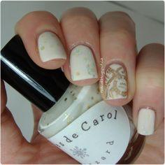 Pinned by www.SimpleNailArtTips.com STAMPING NAIL ART DESIGN IDEAS -  #nails #nailart #stamping #gold #coloresdecarol - Nail Call