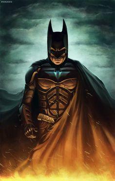 Batman, Ivan Mitrohin on ArtStation at https://www.artstation.com/artwork/batman-3d937392-7f60-4f68-9874-a378e62acb2e