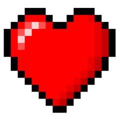 Minecraft 8-Bit Heart
