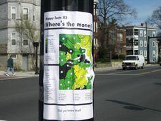 Awesome public awareness campaign idea!