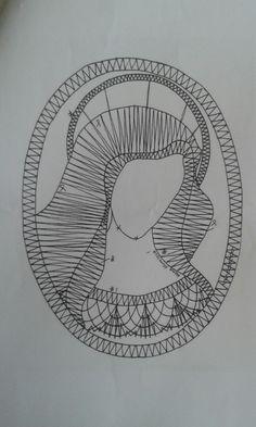 Madona1 Madonna, Bobbin Lace Patterns, Filet Crochet, Symbols, Embroidery, Drawings, Artwork, Arizona, Boards