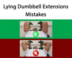 Lying Supine Two-arm Dumbbell Extensions Mistakes  #Exercises_Mistakes #Mistakes_at_gym #Triceps_Exercises_Mistakes #muscles_pain # joints_pain #Triceps_Exercises #Arm_Exercises