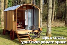 Tips & Tricks: Your Own Private Shepherd's Hut | Plain Huts