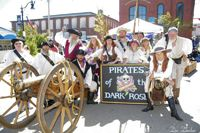 Be sure to come to the Pirate Invasion #inBeaufort to meet Pirates of the Dark Rose!