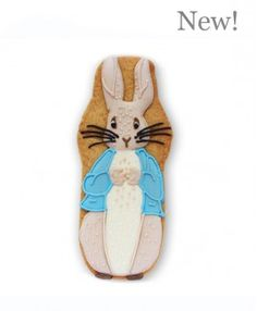 150th Anniversary Peter Rabbit biscuit card from the Biscuiteers