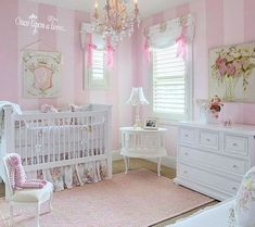Pinspiration - 125 Chic-Unique Baby Nursery Designs - Style Estate - For a girl