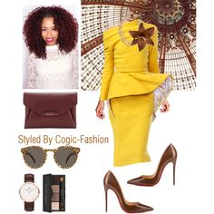 Stylish✨ by cogic-fashion on Polyvore featuring polyvore, fashion, style, Christian Louboutin, Givenchy, Chanel, Illesteva, Bobbi Brown Cosmetics and Clips