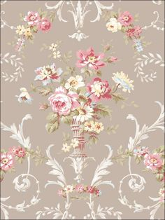 wallpaperstogo.com WTG-106203 Seabrook Designs Traditional Wallpaper