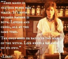 never has there been better quote to explain the most basic thing every witch should understand.