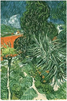 Doctor Gachet's Garden in Auvers, Vincent van Gogh Painting, Oil on Canvas Auvers-sur-Oise, France: May, 1890