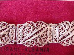 Silver filigree bracelet. more filigree at  http://www.silvertownart.com/Vasilis_Vafiadis_s/1833.htm