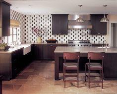 kitchen - Modern - Kitchen - Images by Burnham Design   Wayfair
