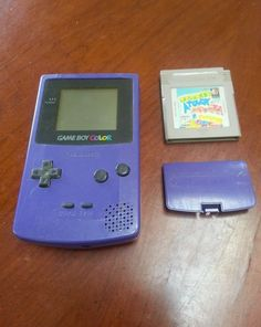 Nintendo Game Boy Color Teal Handheld System with Tetris Game…