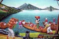 Naif Art, Atitlán Lake, Sololá