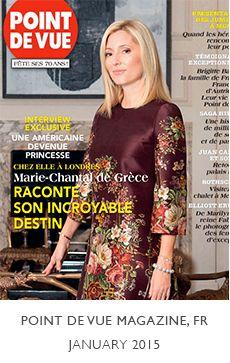 Marie-Chantal designer girls and boys Point de Vue Magazine