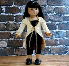 Custom Order for Katherine - Time Traveler American Girl Steampunk Summer Coat