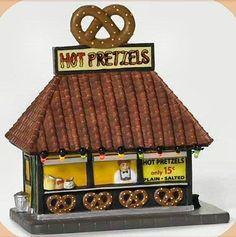 Hot Pretzels NEW Department Dept. 56 Christmas In The City Village D56 CIC