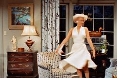 The girl from the seven year itch!