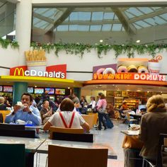 Food-Court Survival: Healthy Fast-Food Options.  Remember when you add mayo and certain salad dressings, your calorie count will go up.
